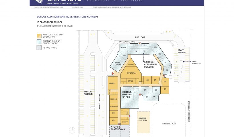 Oak Grove Elementary School Map